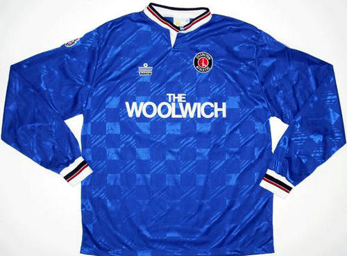 Camiseta De Futbol Charlton Athletic Fc Segunda Equipación 1990-1991 Popular